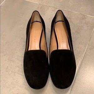 Banana republic suede block heels